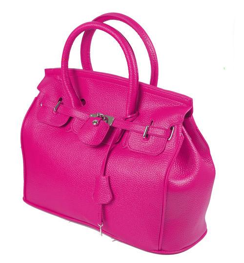 Elegant-Style-Women-Lady-Celebrity-PU-Leather-Tote-Handbag-Lock-Shoulder-bag thumbnail 3