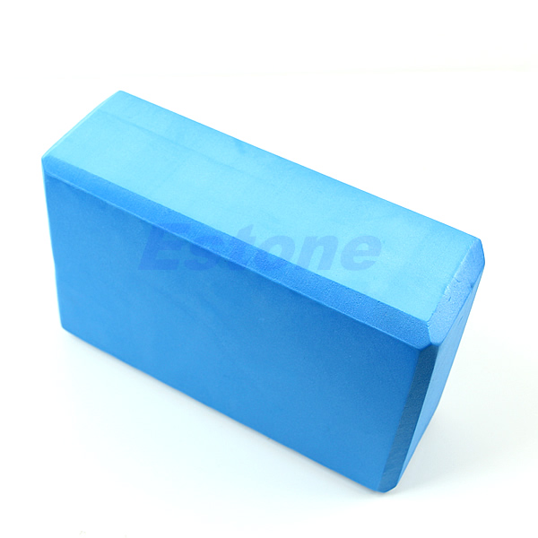 Hot Selling Yoga Block Foam Block Blue Foaming Home
