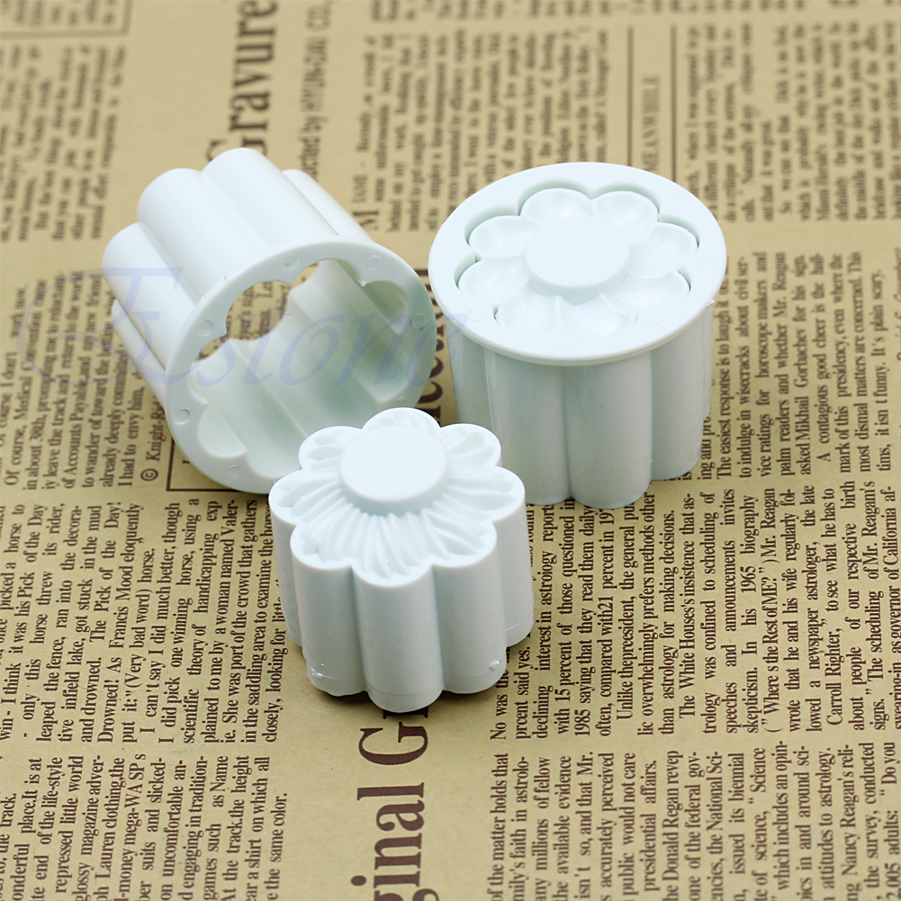 Cake Decorator Job Responsibilities : 2pcs Mold Sugarcraft Fondant Flower Plunger Cutter Cake ...