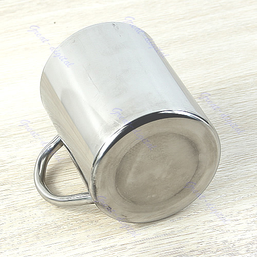 450ml Stainless Steel Coffee Mug Tumbler Camping Mug Double Deck Bilayer Cup