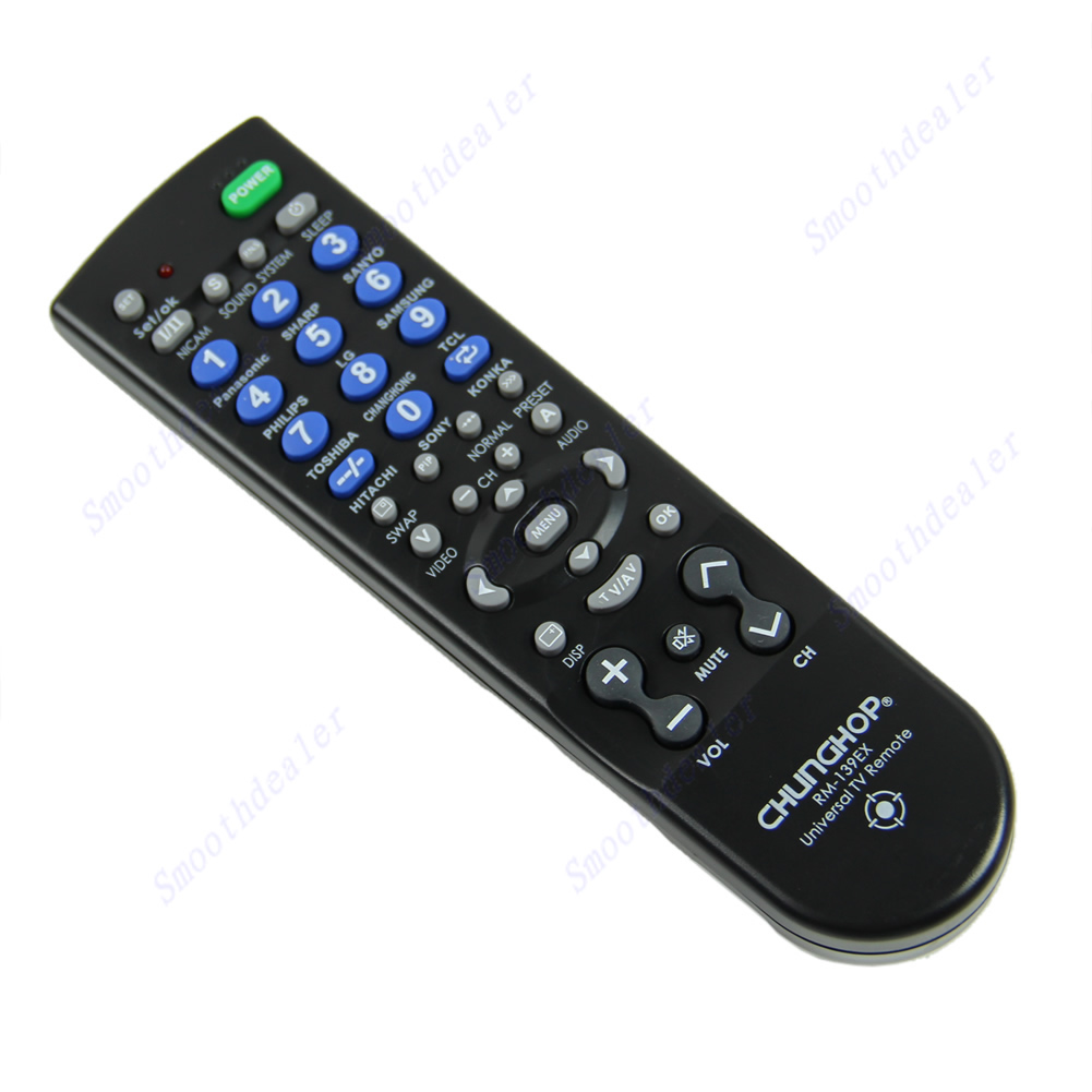 New Universal CHUNGHOP RM-139EX TV Remote Controller For Brand TV Hot