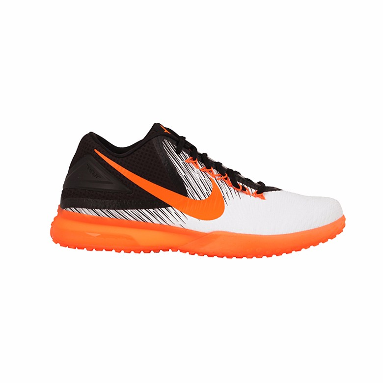 nike zoom trout 3 baseball cleats turf tf shoes white