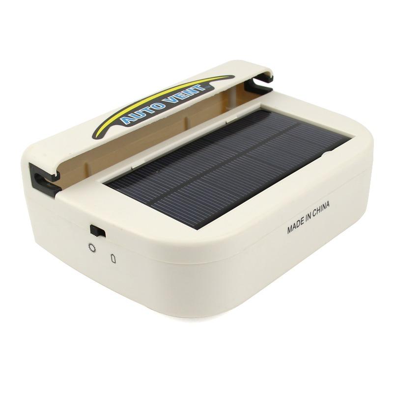 solar powered auto car fan air vent ventilator mini air conditioner cool cooler ebay. Black Bedroom Furniture Sets. Home Design Ideas