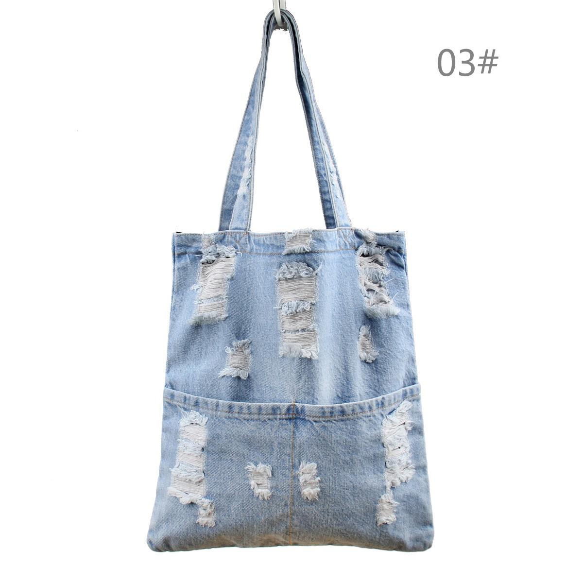 Fashion Women Girl Large Denim Jean Handbag Tote Messenger Hobo Shoulder Bags | eBay