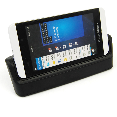 desktop sync data phone battery dual charger dock cradle for blackberry bb z1. Black Bedroom Furniture Sets. Home Design Ideas