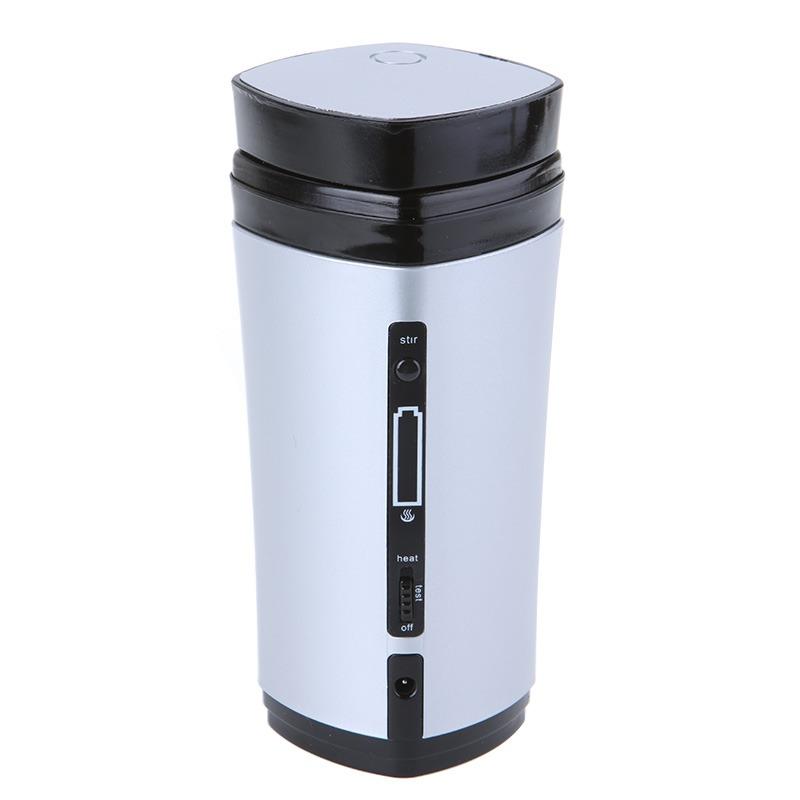 Self Stirring Auto Mixing Heating Tea Coffee Milk Cup Mug