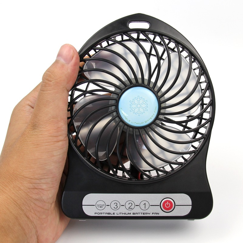 140mm Mini Portable PC USB & Battery Operated Personal Desk Fan w ...