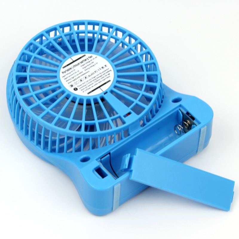 140mm Electric Mini Portable PC USB & Battery Operated Personal Fan Rechargeable | eBay