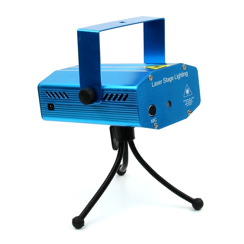 Mini portable overhead projector lighting laser stage for Best portable laser projector