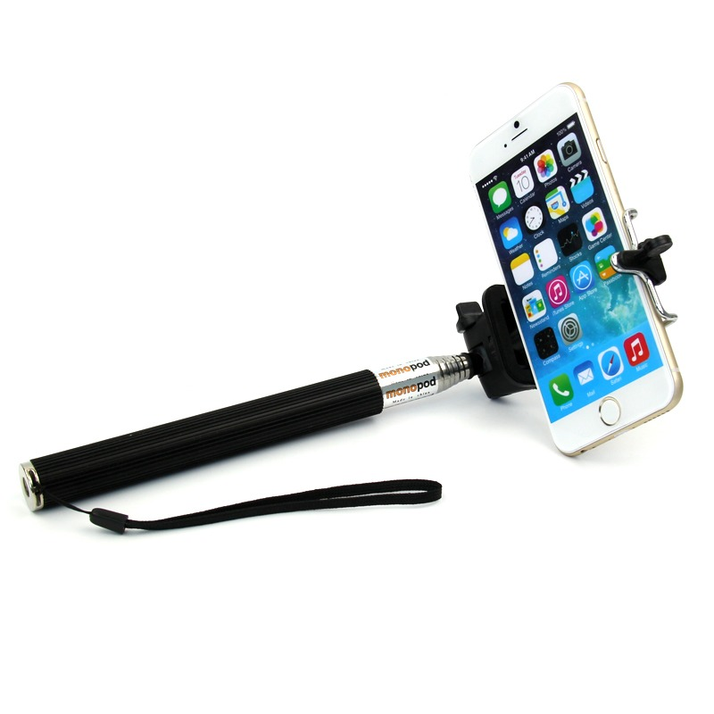 handheld self portrait selfie stick extendable monopod holder for iphone 6 pl. Black Bedroom Furniture Sets. Home Design Ideas