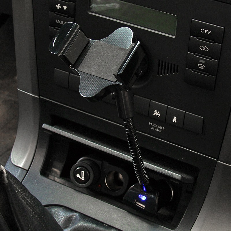 how to connect ipod to car via cigarette lighter