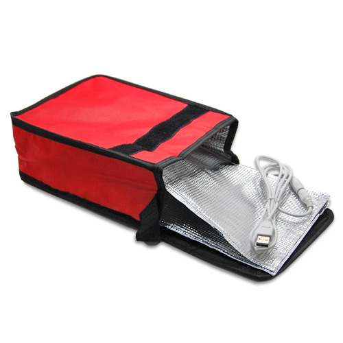 usb thermal insulation lunch box bento food warmer heating. Black Bedroom Furniture Sets. Home Design Ideas