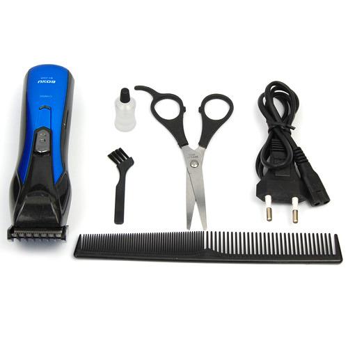 men 39 s electric rechargeable shaver beard trimmer razor. Black Bedroom Furniture Sets. Home Design Ideas