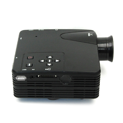 Hiperdeal Home Cinema Theater Multimedia Led Lcd Projector: Home Cinema Theater Multimedia LED LCD Projector HD 1080P