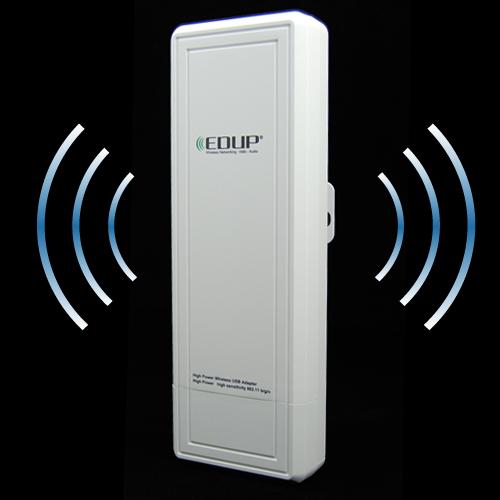 High Power Long Range 802 11g N B Outdoor Wireless USB Adapter w 16dBi Antenna