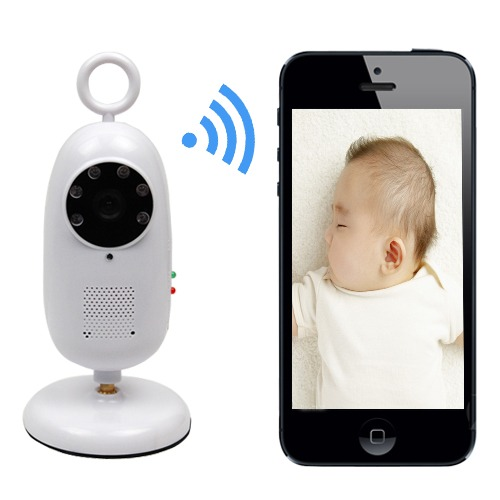 2 4ghz wireless wifi smartphone remote video baby monitor ir night vision camera ebay. Black Bedroom Furniture Sets. Home Design Ideas