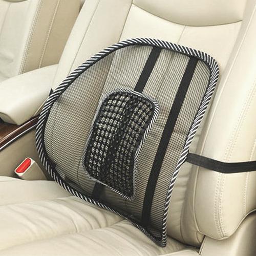 fice Auto Car Seat Chair Massage Cushion Mesh Lumbar