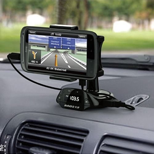 Car Mount Holder USB Charger FM Transmitter for Samsung Galaxy S3 S4 ...