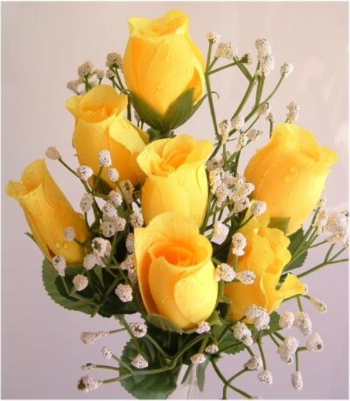 Yellow Wedding Flowers Online : Wedding flowers packages