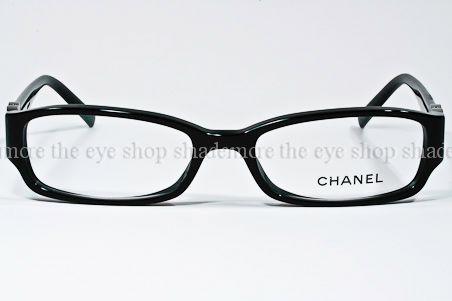 Chanel Eyeglass Frames 3131 : NEW CHANEL Eyeglasses Frame 3131 501 Black Silver Camellia ...