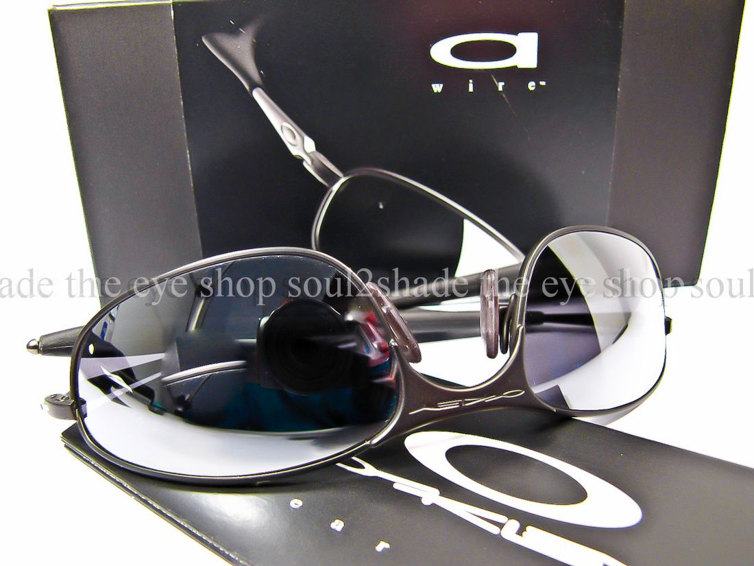 Old Oakley Sunglasses Models http://www.ebay.com/itm/Vintage-Mint-Oakley-A-Wire-Sunglasses-Dark-Black-05-576-/110681016403