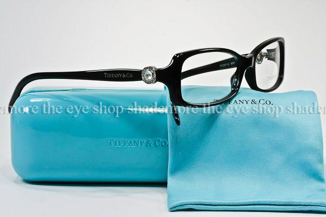 Tiffany Eyeglass Frames With Crystals : NEW TIFFANY & CO Eyeglasses Frame TF 2037G 8001 Black ...