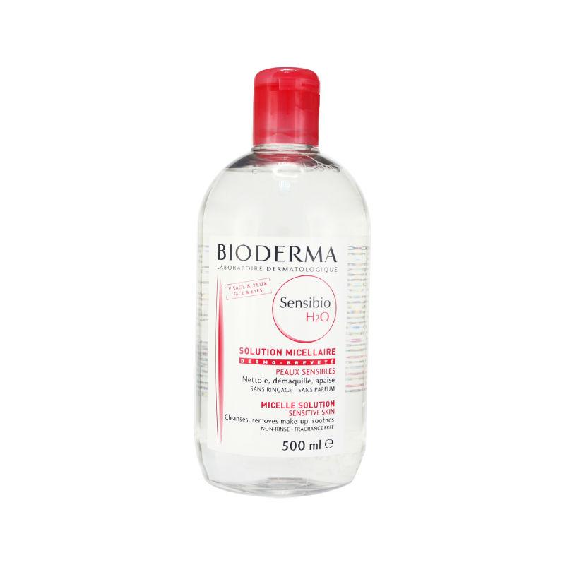 bioderma cleansing water skincare cleanser crealine h2o 500ml ebay. Black Bedroom Furniture Sets. Home Design Ideas