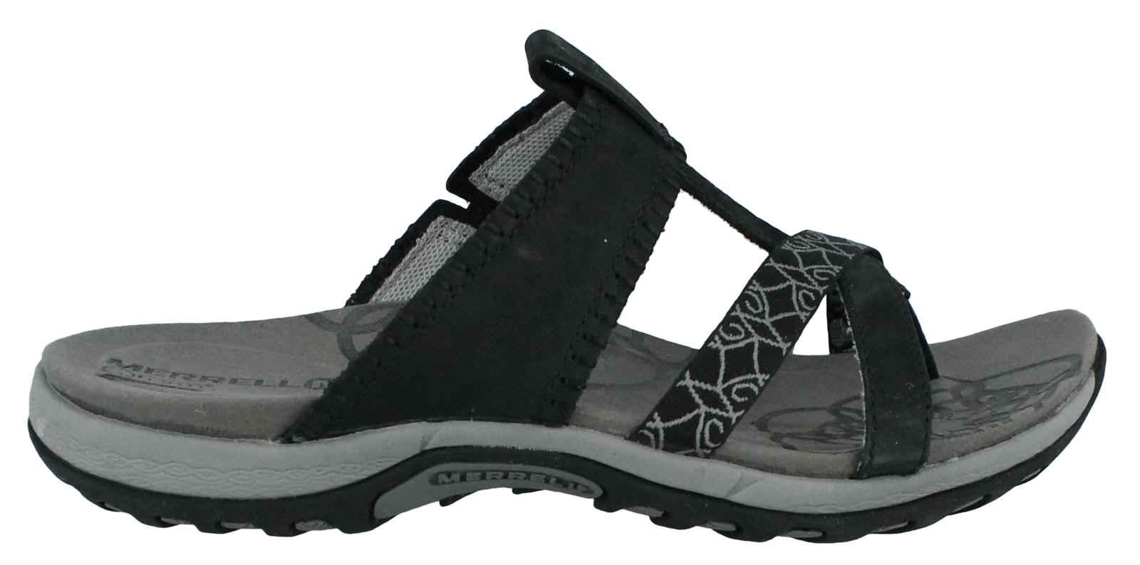 MERRELL Avian Light Strap Ladies Sandals, Brindle, UK8