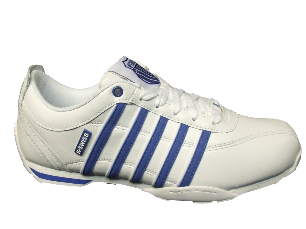k swiss arvee white classic blue g2 02453117 men 39 s trainers all sizes ebay. Black Bedroom Furniture Sets. Home Design Ideas