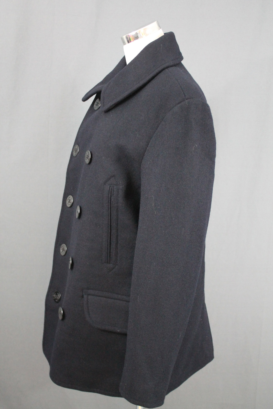 JCrew Mens Dock Peacoat $268 Wool XS Navy Winter Coat 05534 NWT | eBay