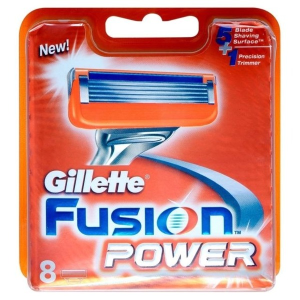 Brand-New-Gillette-Fusion-Power-Razor-Blades-8-Pack-HR11