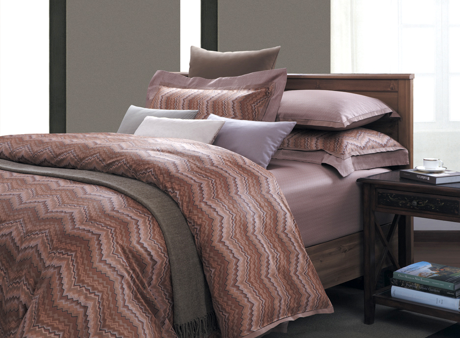 New-7-Pc-100-Cotton-300-TC-Southwestern-Arizona-Duvet-Cover-Set-Brown