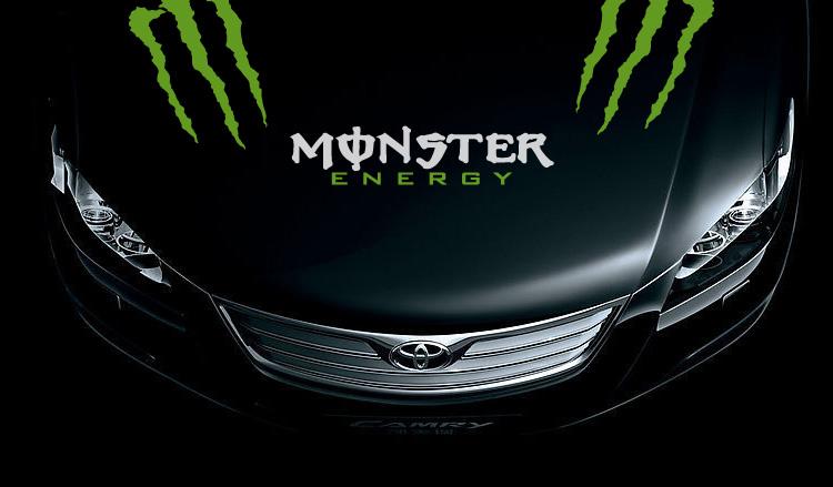 Monster Energy Window Decals