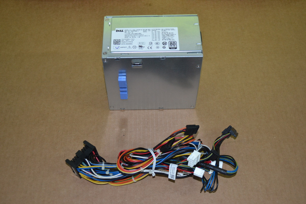 Dell 0w299g 875w Power Supply N875ef 00 Nps 875bb W Wire