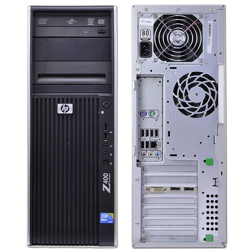 hp z400 workstation xeon quad core w3565 3 2ghz 8gb 1tb dvdrw windows 7 pro ebay. Black Bedroom Furniture Sets. Home Design Ideas