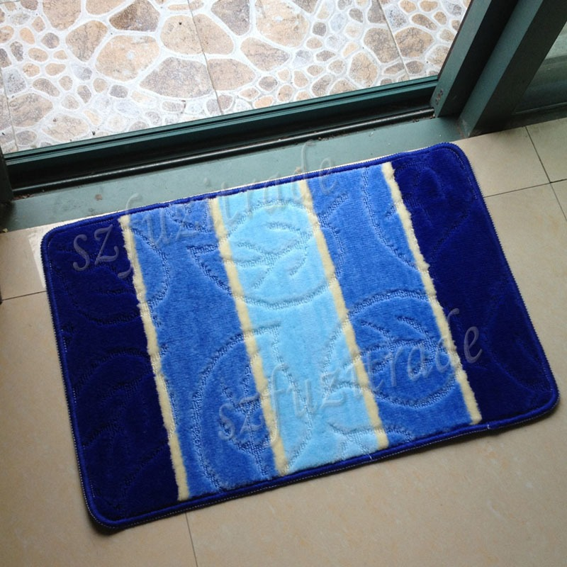 Non Slip Bathroom Water Absorbent Carpet Pad Kitchen Bedroom Rug Floor Door Mat Ebay