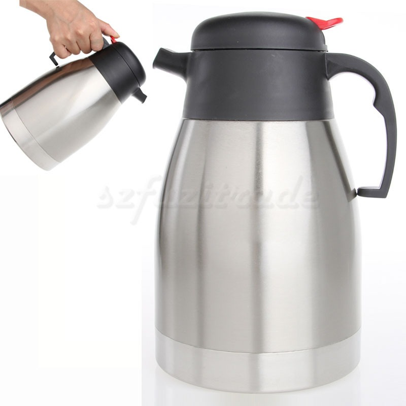 NEW 1500ml Stainless Steel Insulated Vacuum Flask Thermos TEA Coffee POT JUG eBay