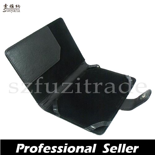 New-PU-Leather-Wallet-Case-Cover-Pouch-For-Latest-Amazon-Kindle-4-4th-Generation