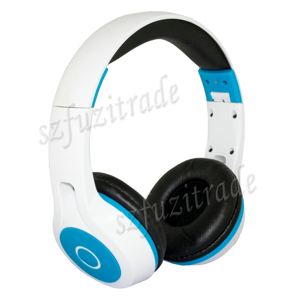 komc wireless bluetooth 3 5mm jack stereo headphones headset w volume control us ebay. Black Bedroom Furniture Sets. Home Design Ideas