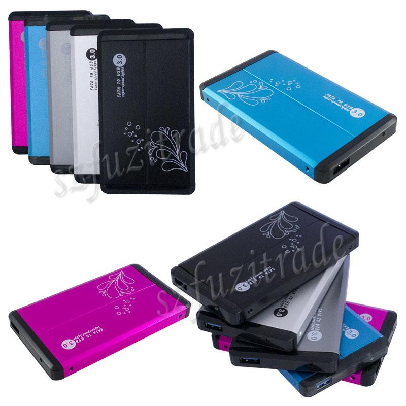 Multi color portable external 2 5 inch sata hdd hard drive - Colore case esterno ...