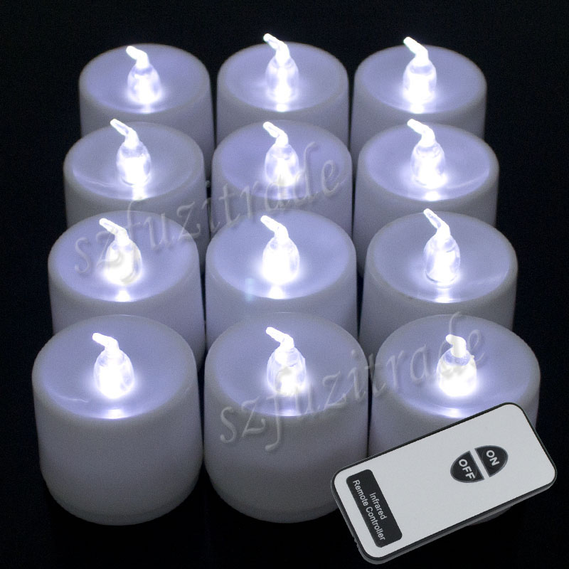 new flameless color change led candle tea light lamp tealight remote. Black Bedroom Furniture Sets. Home Design Ideas