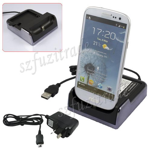 AC-Wall-USB-Cradle-Dock-Battery-Charger-For-Samsung-Galaxy-S3-SIII-i9300-S-3-III