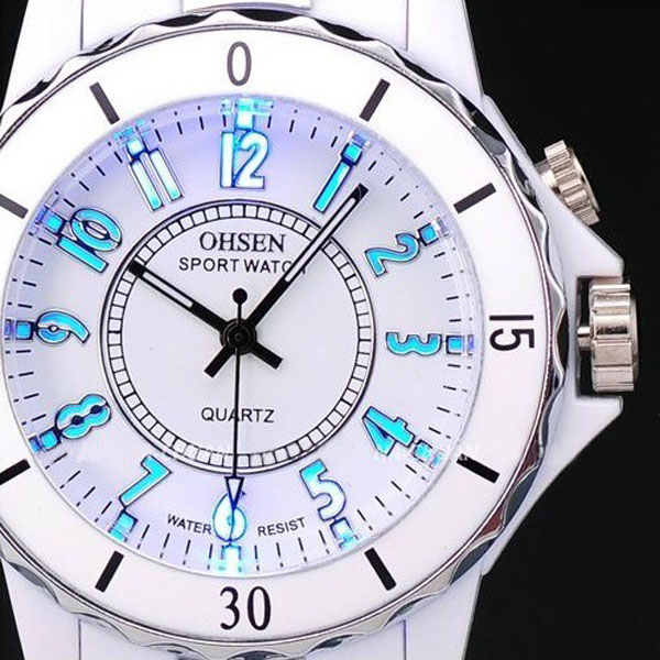 Unique-Mens-Ladys-7-Colors-Waterproof-Quartz-Sports-Watch