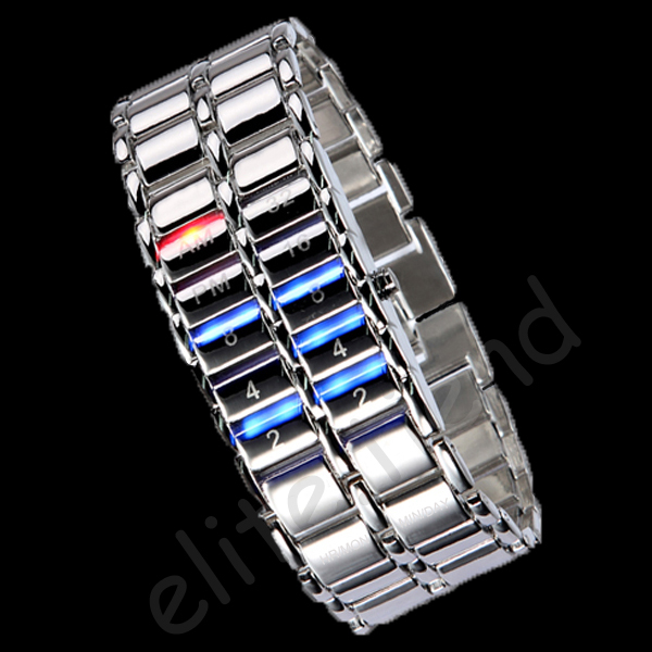 Trendy-RED-Blue-LED-Mens-Ladys-Watch-Digital-Sport-Gift-NEW