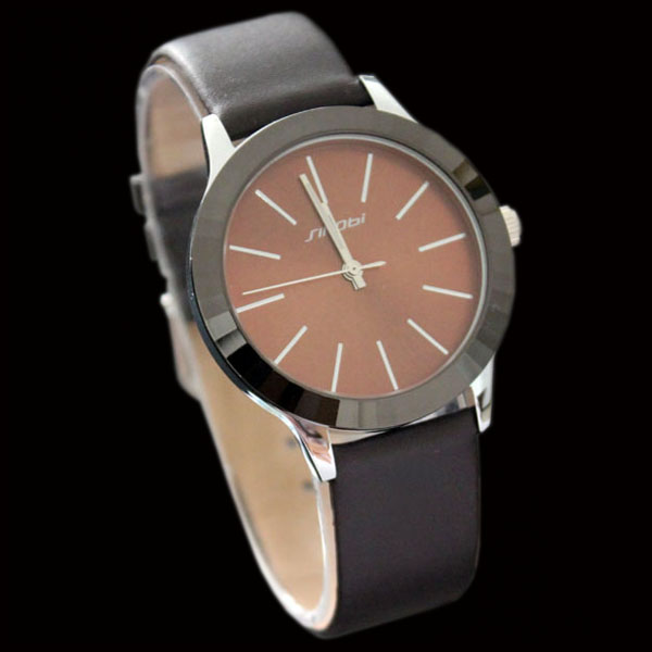 Trendy-Mens-Lady-Quartz-Analog-Sport-Watch-Brown-Gift-New