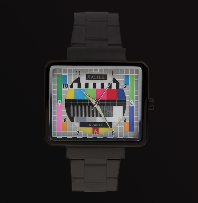 New-Special-Television-TV-Pattern-Quartz-Mens-Ladys-Watch-Gift
