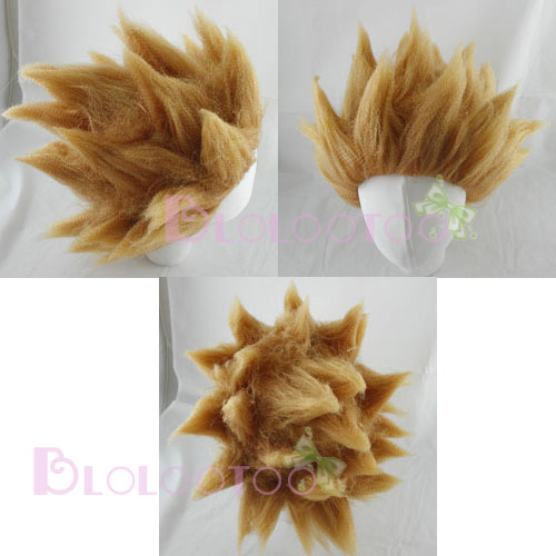 DRAGONBALL Z Anime GOKU SUPER SAIYAN HAIR Wig Cosplay - eBay (item