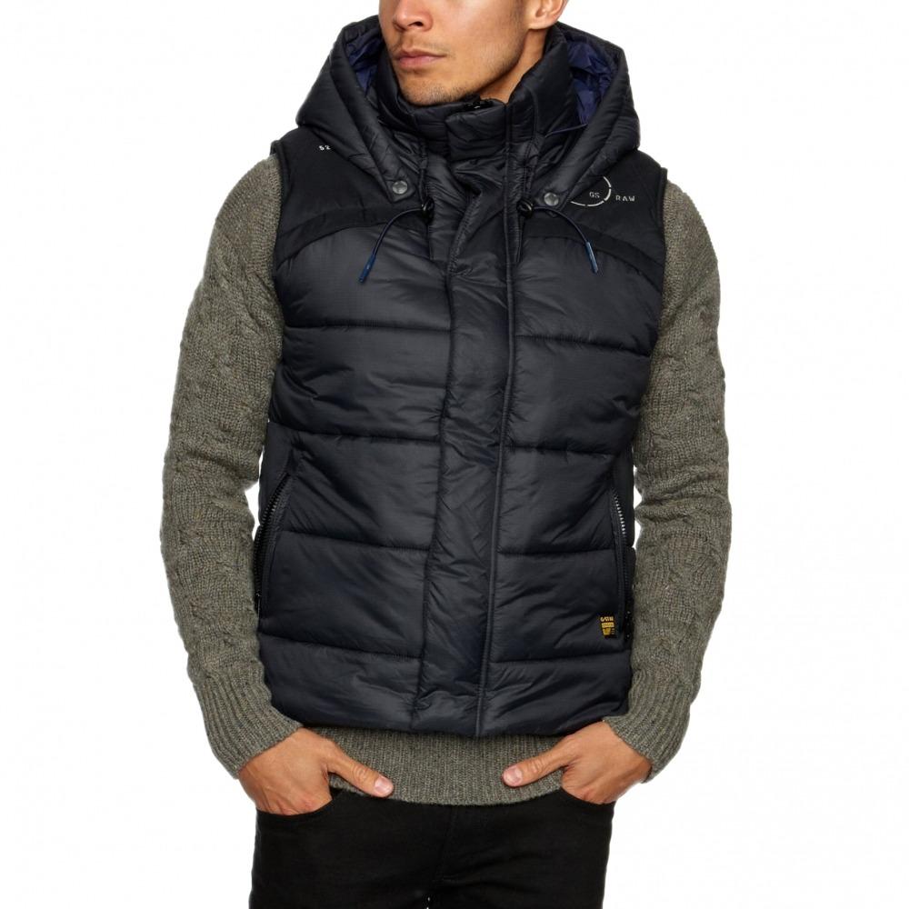 g star raw black whistler hooded vest size xxxl 220 bnwt 100 authentic ebay. Black Bedroom Furniture Sets. Home Design Ideas