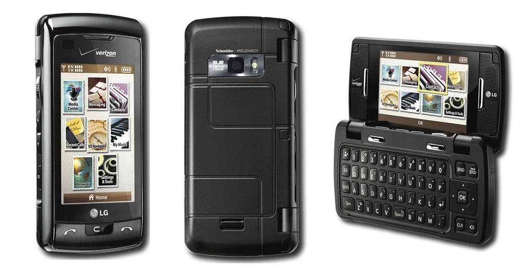 new lg vx11000 env touch verizon touch cell phone ebay. Black Bedroom Furniture Sets. Home Design Ideas