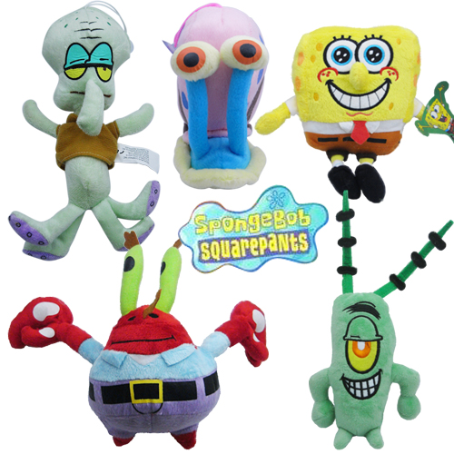 Spongebob-Squarepants-Patrick-Plush-Doll-Toy-Set-Of-5pc
